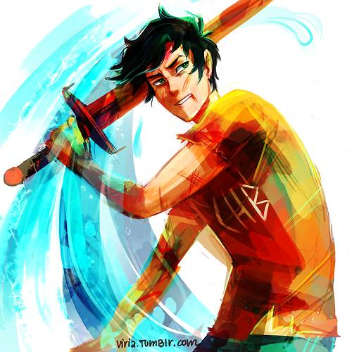 Percy Jackson, the Son of Poseidon by YellowFlash1234