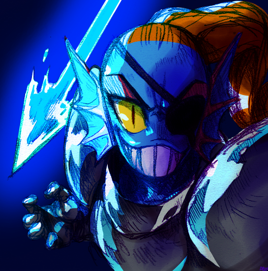 undyne__the_leader_of_the_royal_guard_by
