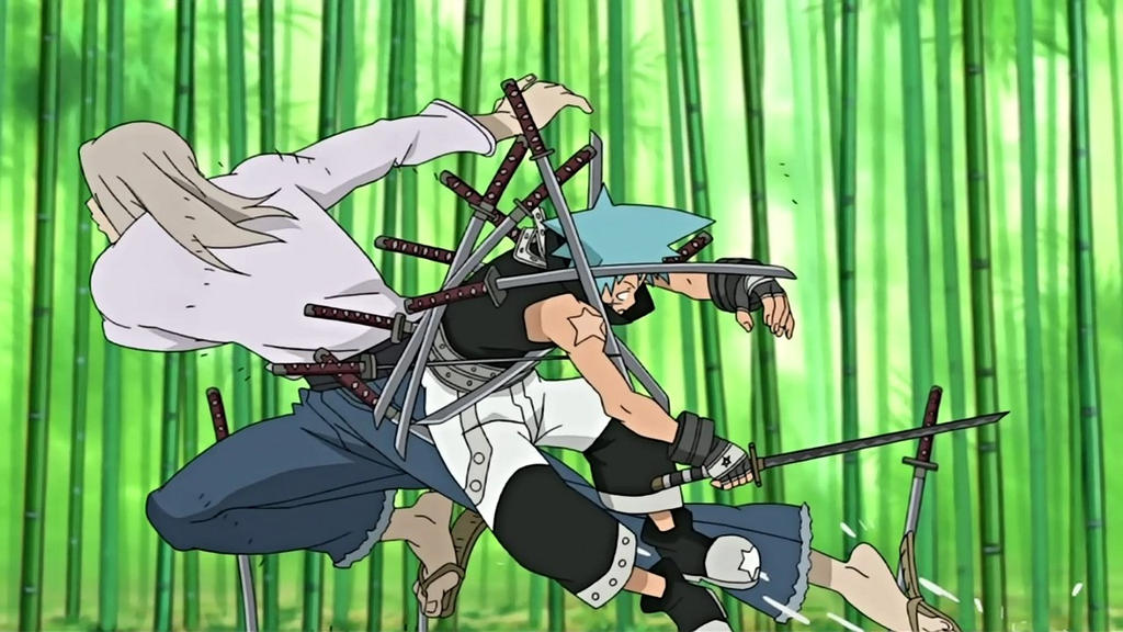 Image result for soul eater mifune fight