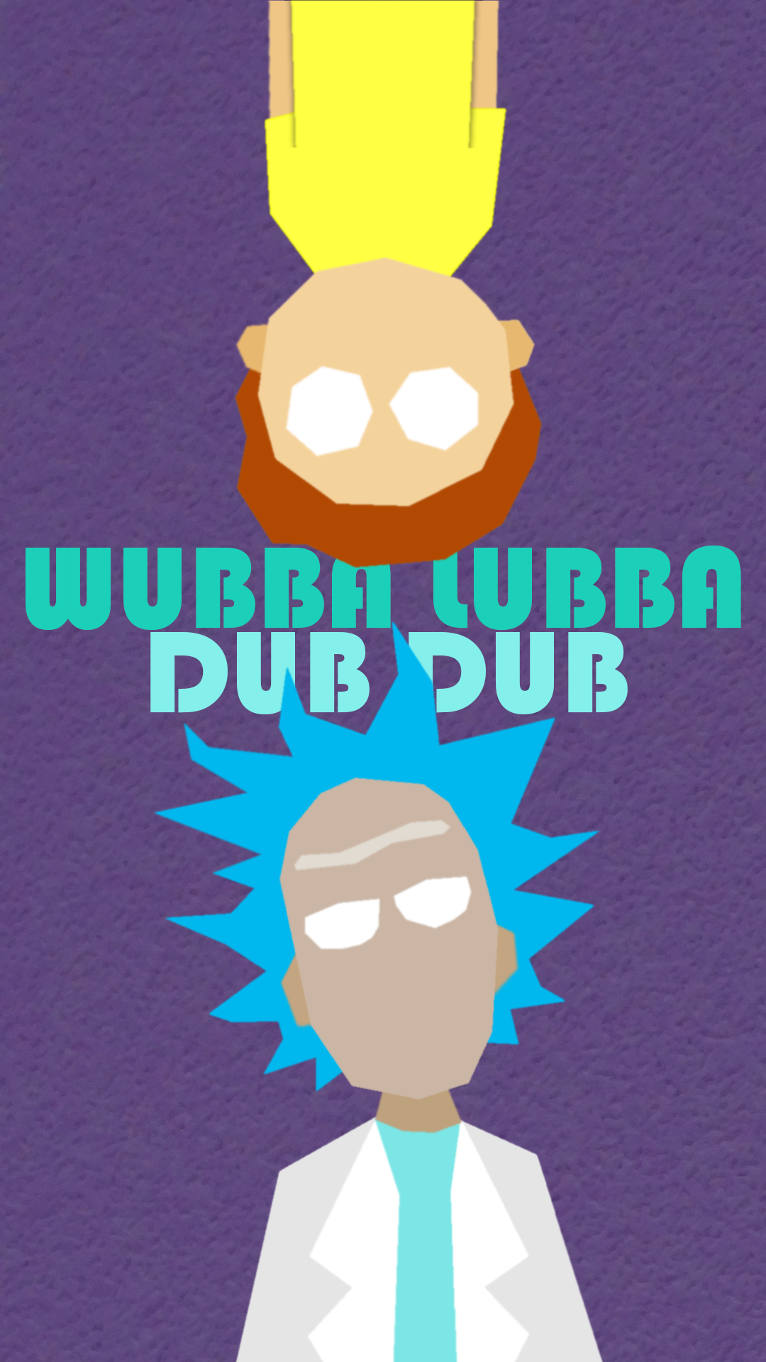 Rick and Morty Phone Background by Toshpokerface on DeviantArt