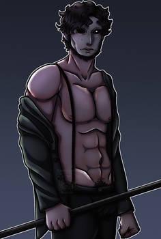 he lost his got dang shirt
