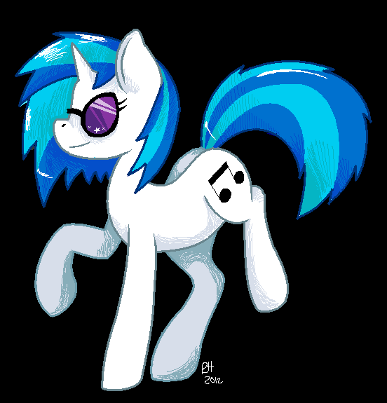 Vinyl Scratch by KID-KANEDA