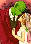Yuna x Piccolo wedding Motive1