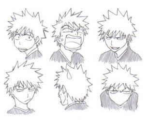 Kurosaki Ichigo - Expressions by Naruto224