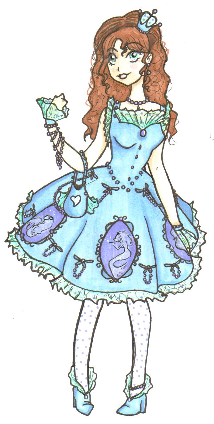 My Dream Lolita Dress by SilverTallest
