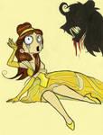 Burtonized Princess: Belle