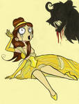 Burtonized Princess: Belle
