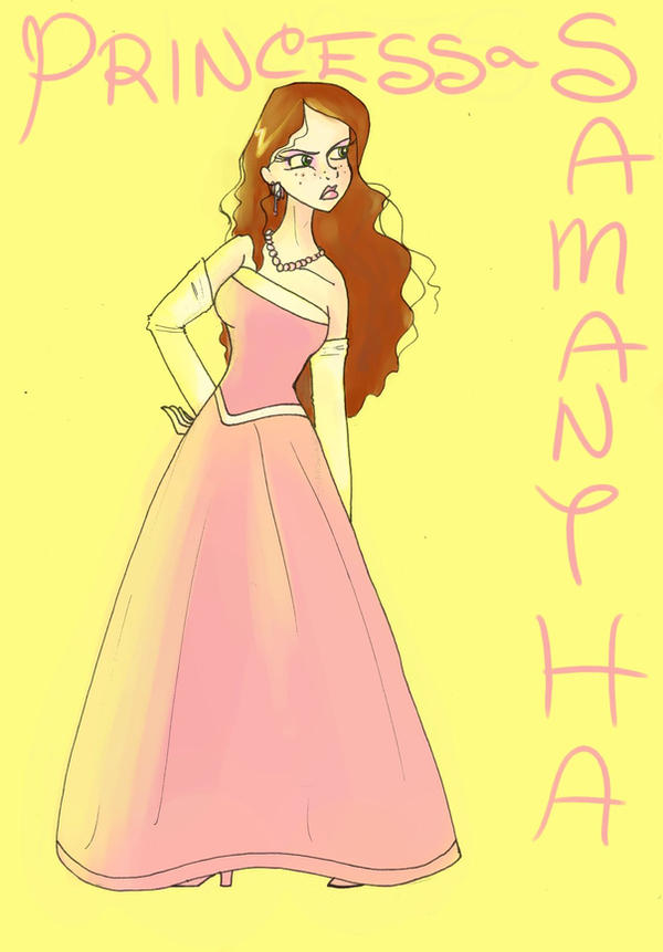 Disney Princess Samantha by SilverTallest on DeviantArt
