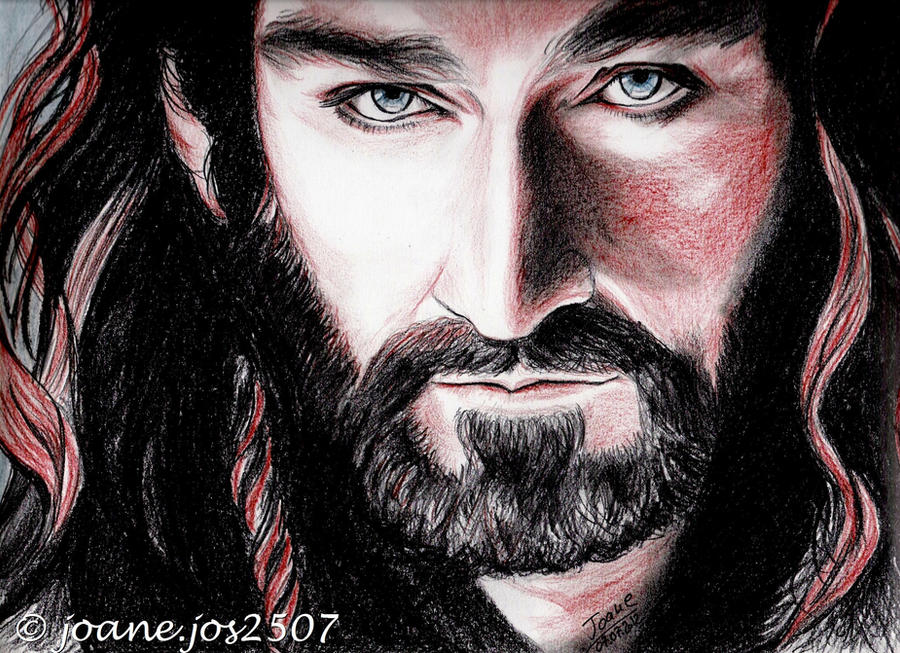 Richard Armitage, Thorin Oakenshield, sanguine by jos2507