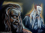 Thorin Thranduil, he never forgave he never forgot