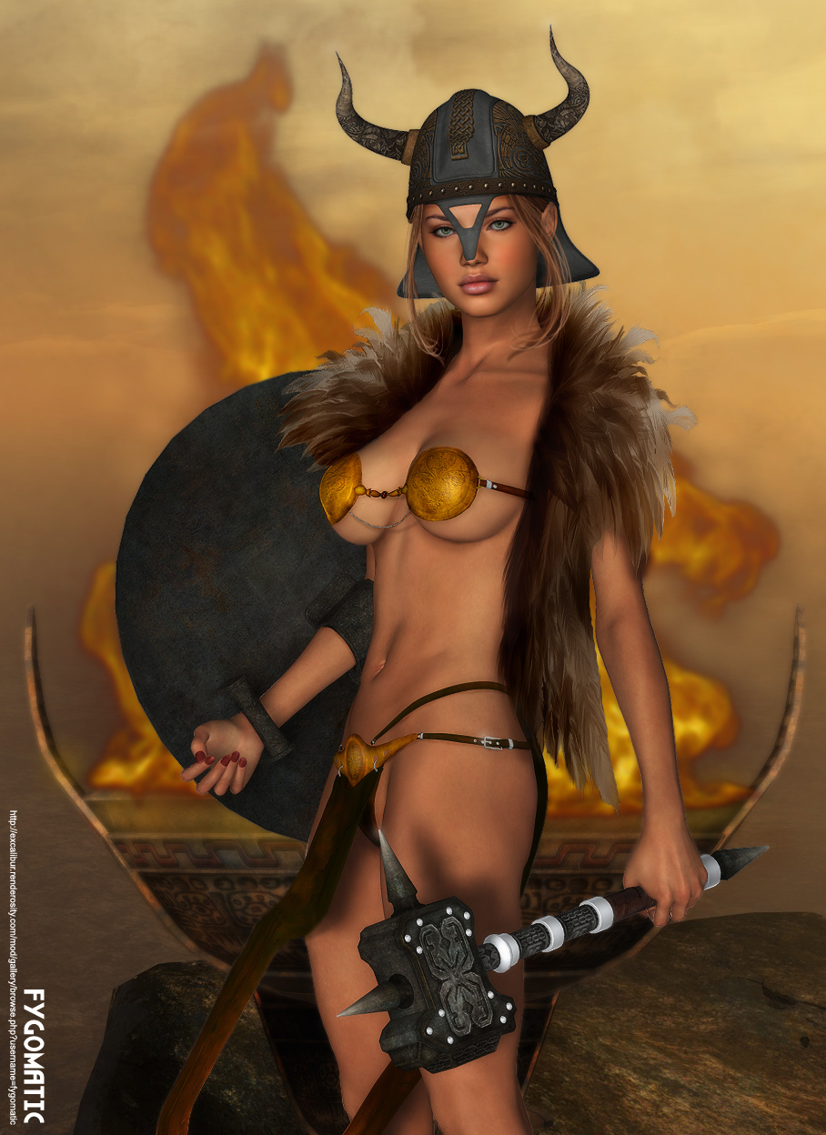 Barbarian women topless nackt clips