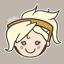 Cutie Pie Mercy by punziebelle