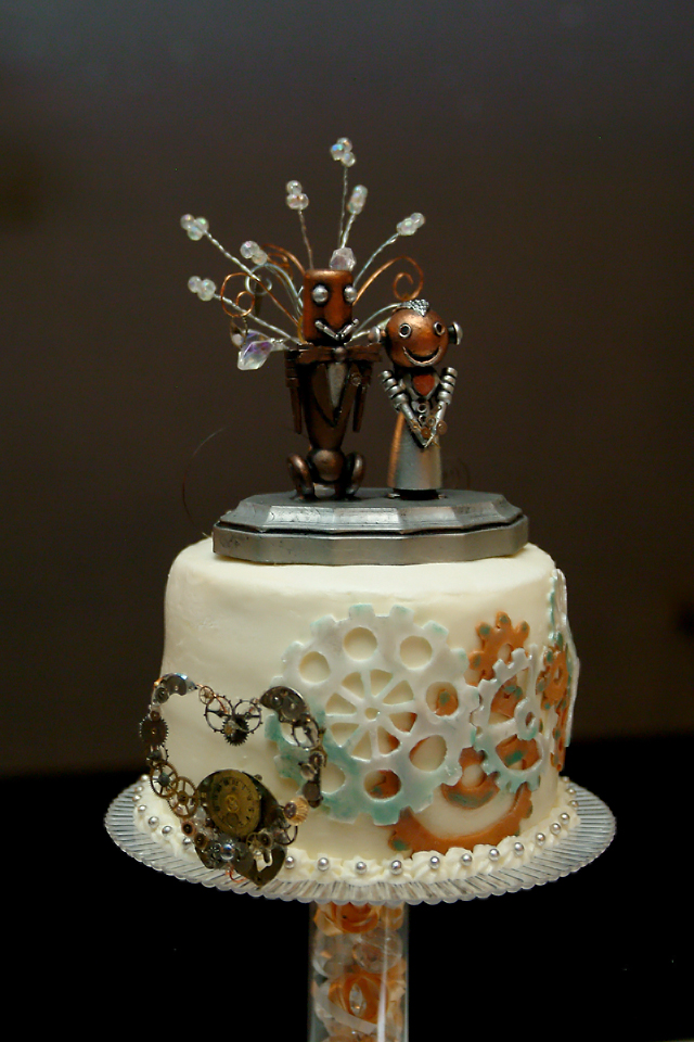 punk wedding cakes steampunk wedding cake by gerald the mouse3 on deviantart 18846