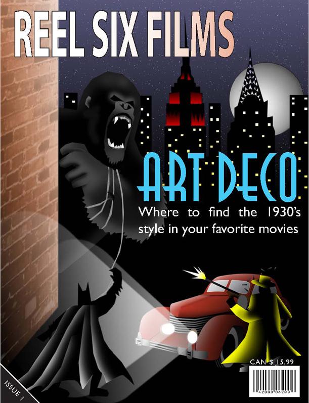 Art Deco Magazine Cover By Nasfat On Deviantart