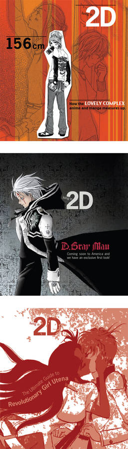 Living in 2D Mag - Covers