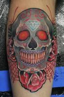 sugar skull by jesserix