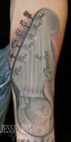 Fender headstock by jesserix