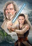 The Last Jedi - Luke and Rey