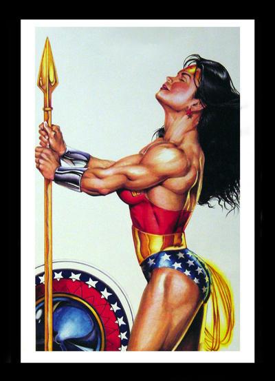 Realistic Wonder Woman by Elfsar