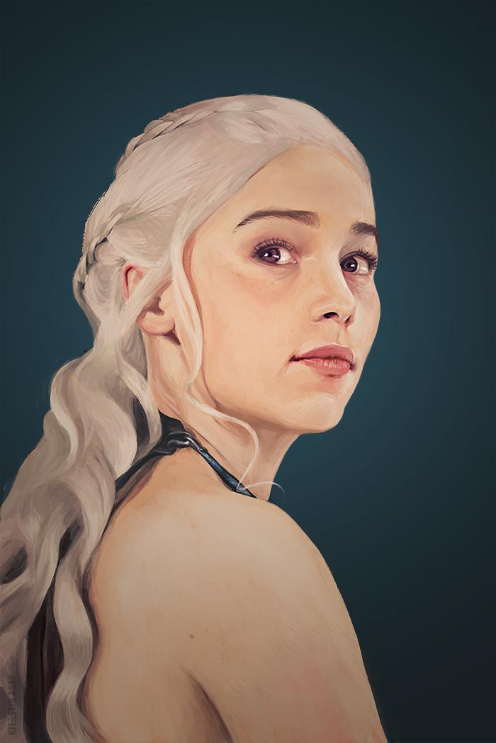 Daenerys Targaryen by Tinu