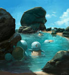 Squirtle Squad's day off