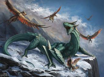 Mountain Dragon by mcgmark