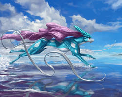 Suicune by mcgmark