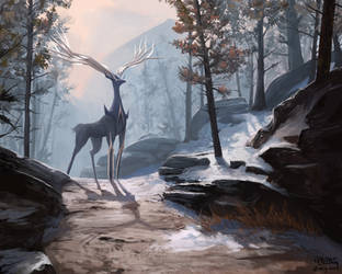 Xerneas-forest by mcgmark