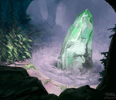 Cave Crystal by mcgmark