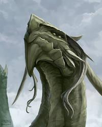 Dragon by mcgmark
