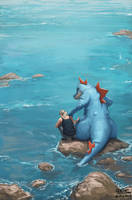 Exploring with Feraligatr by mcgmark