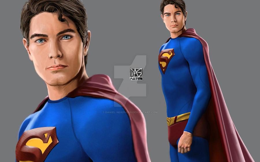 Brandon Routh As Superman By Daniel Morpheus
