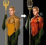 Justin Hartley as Aquaman Second Version