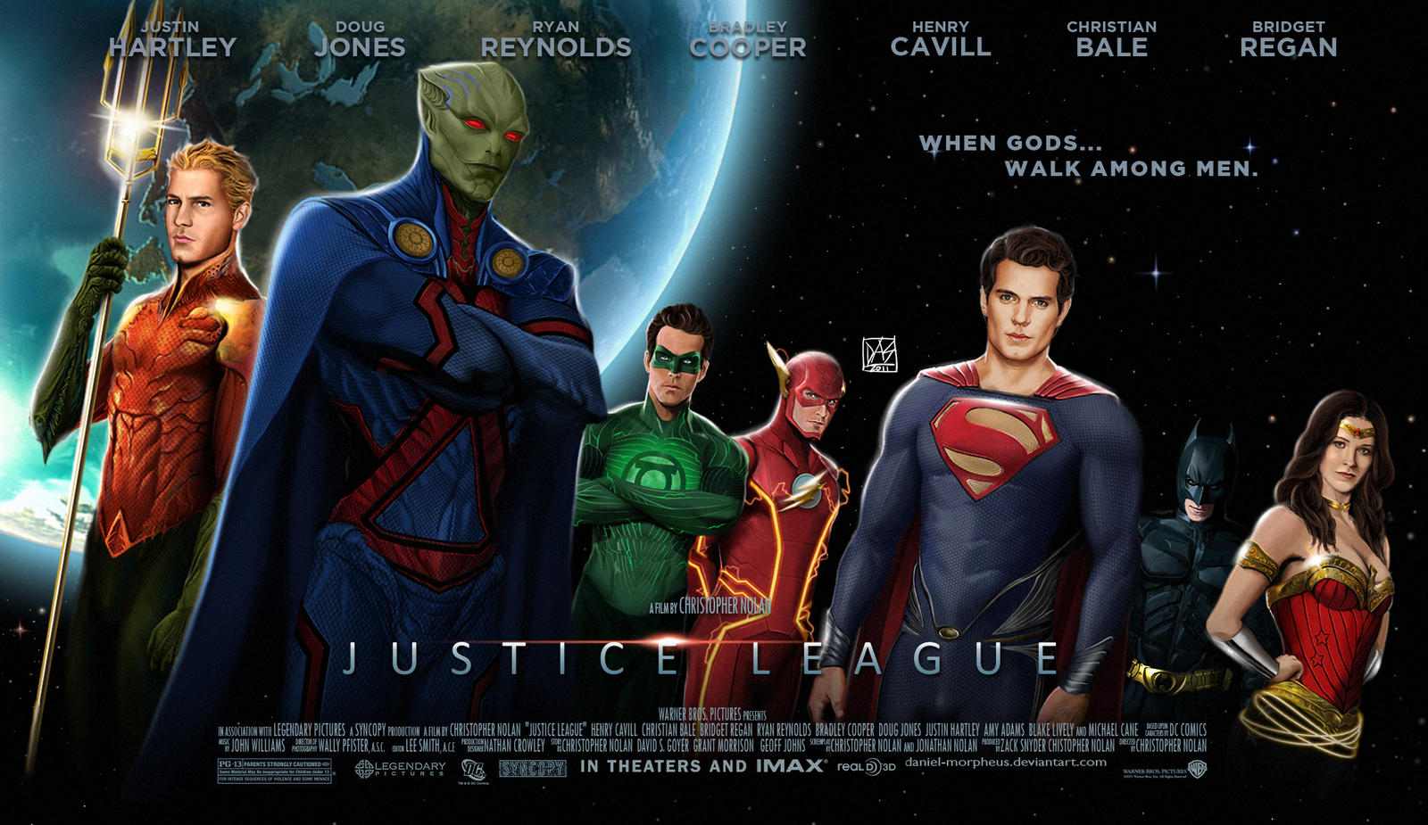 Justice League Movie Poster