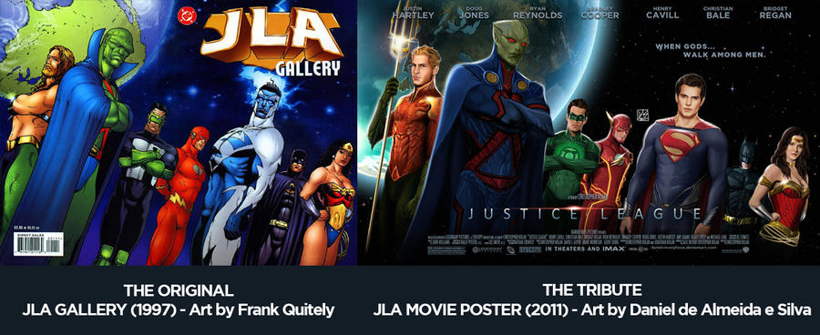 Justice League Movie Poster Tribute