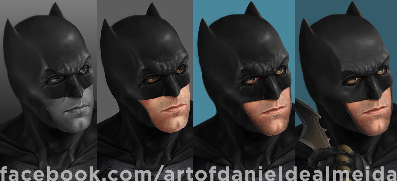 Ben Affleck as Batman #Batfleck by daniel-morpheus