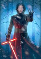 Ben Solo a.k.a Kylo Ren by daniel-morpheus