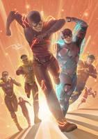 Flash! Ah Aahh! Savior Of The Multiverse! by daniel-morpheus