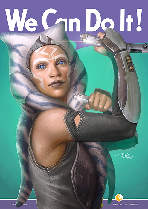 We Can Do It - AhsokaTano by daniel-morpheus