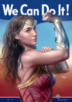 We Can Do It - WonderWoman