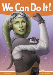 We Can Do It - Hera Syndulla by daniel-morpheus