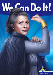 We Can Do It - General Leia Organa