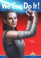 WeCanDoIt - Rey (The Last Jedi)