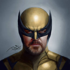Ricky Gervais as Wolverine