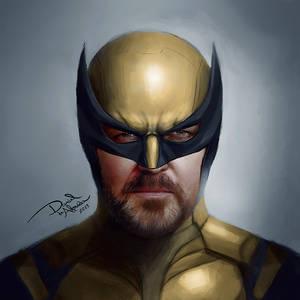 Ricky Gervais as Wolverine