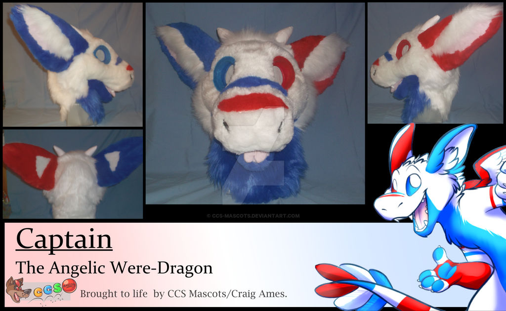 Captain the Angelic Were-Dragon