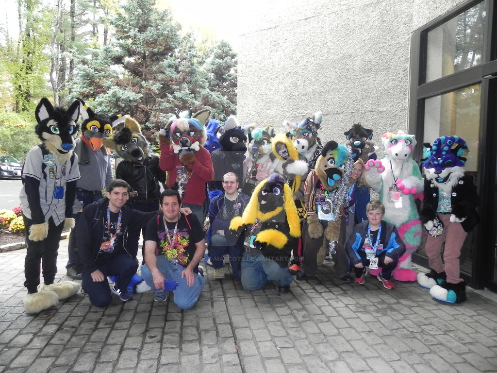 Furpocalypse 2018 CCS Meet and Greet group by CCS-Mascots