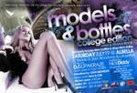 Models And Bottles Back Flyer