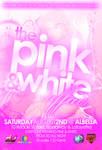 Pink White Affair PartyFlyer F
