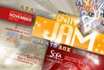 Unity Jam Party Flyer Back